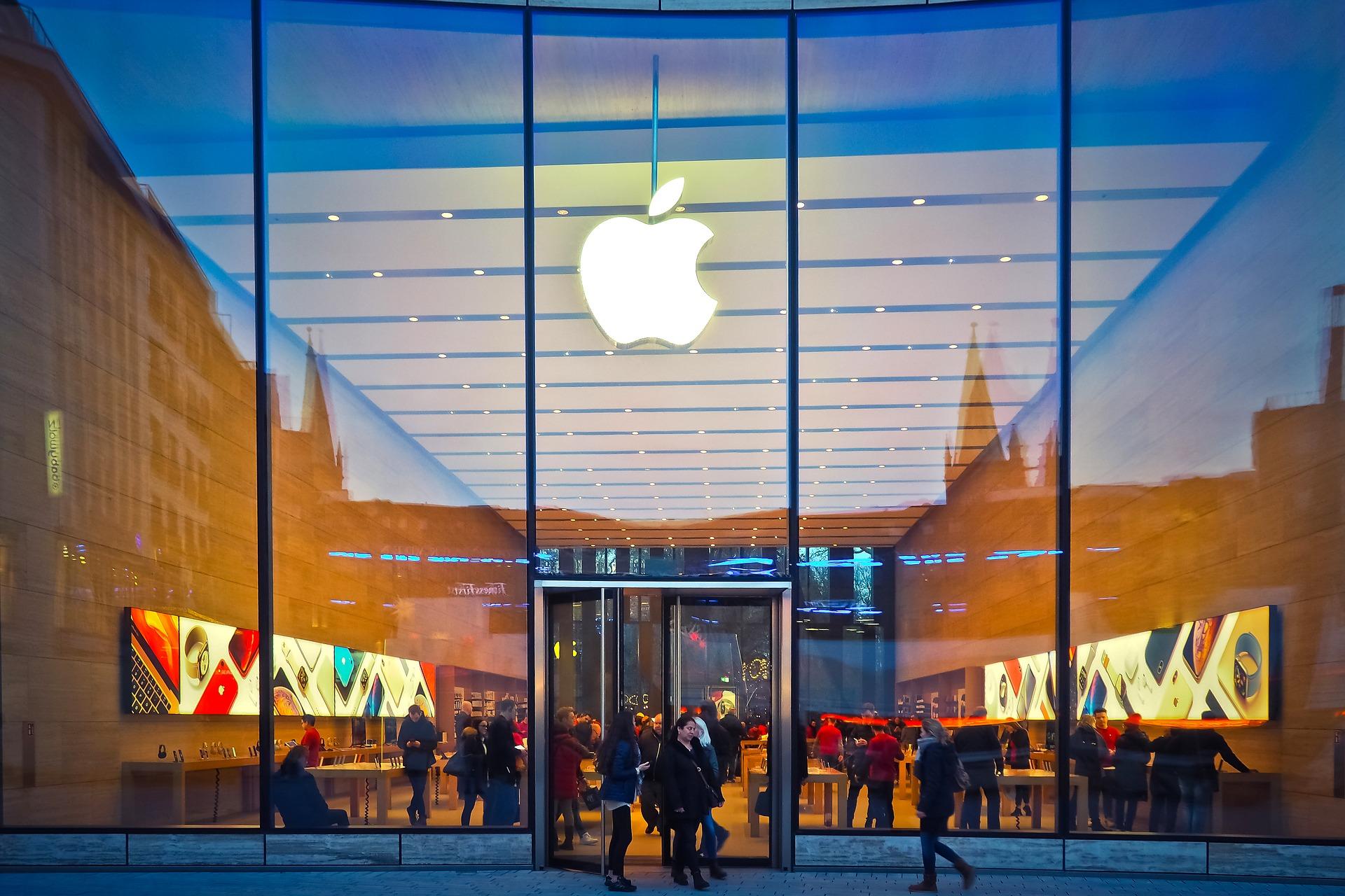 Ein Apple Store