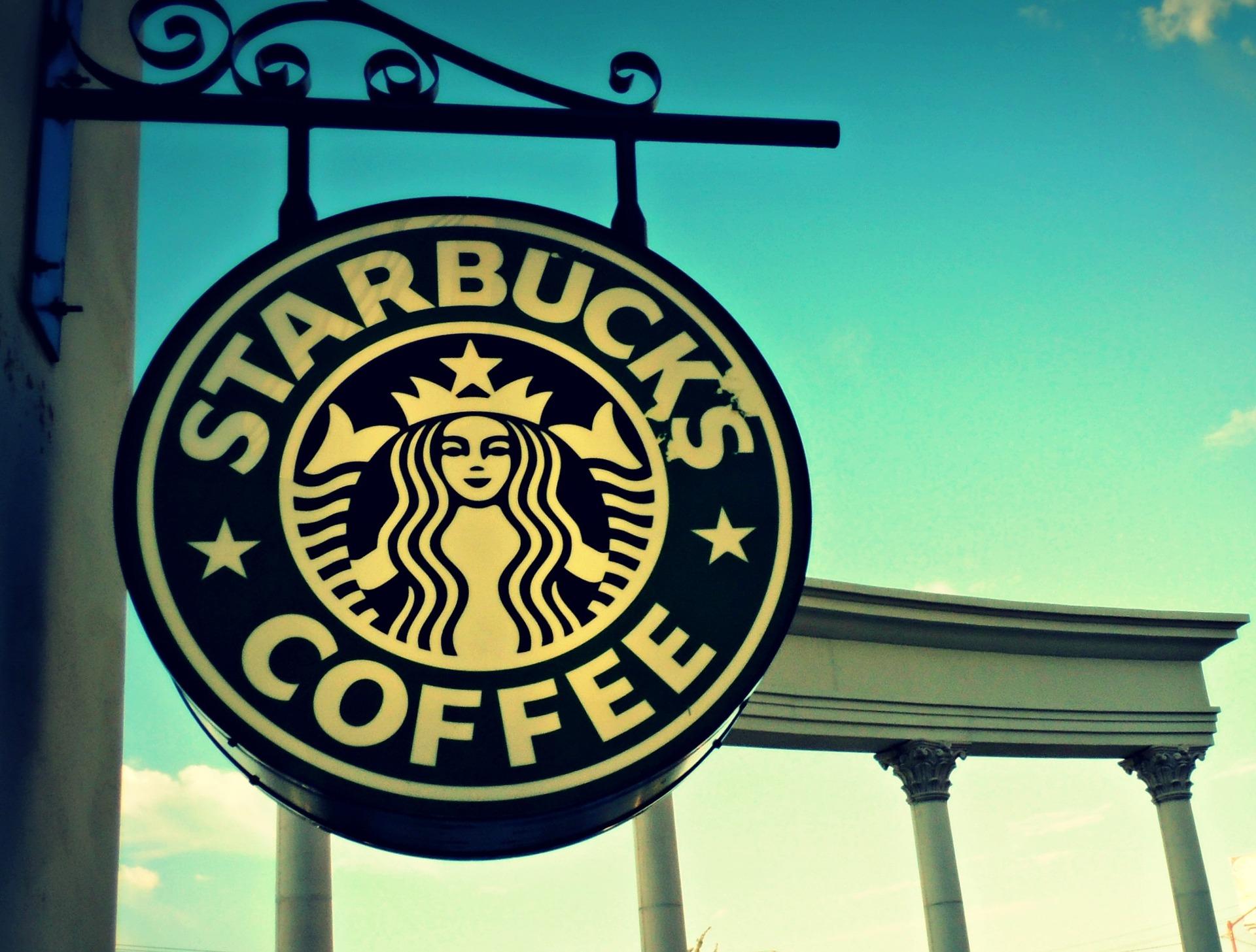 Das Logo von Starbucks