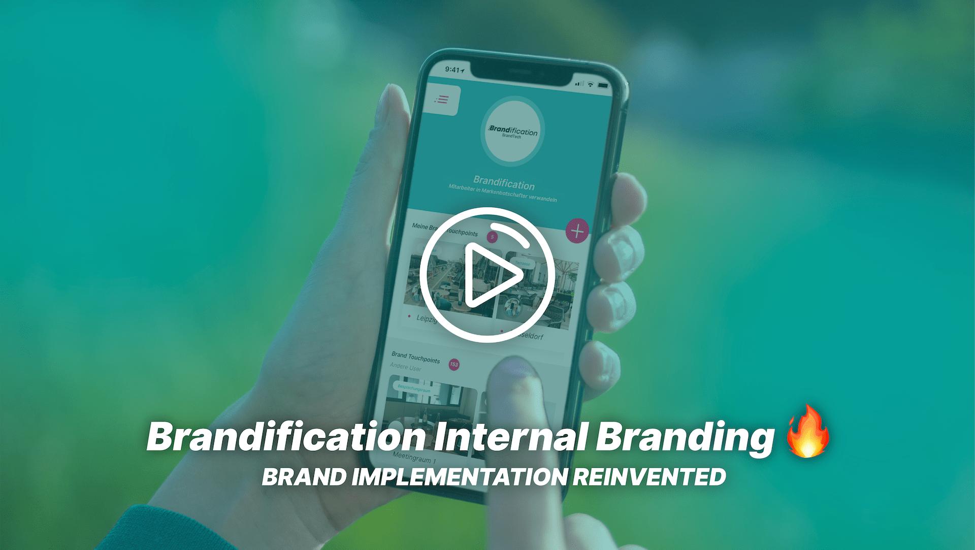 Das Vorschaubild zum Video über Brandification Internal Branding