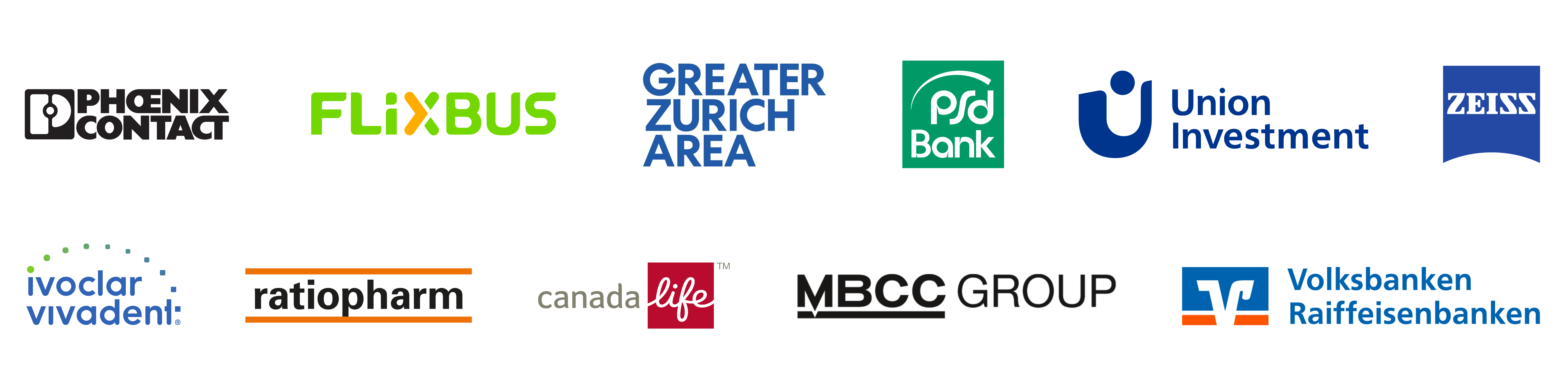 Overview of the companies that work with Brandification