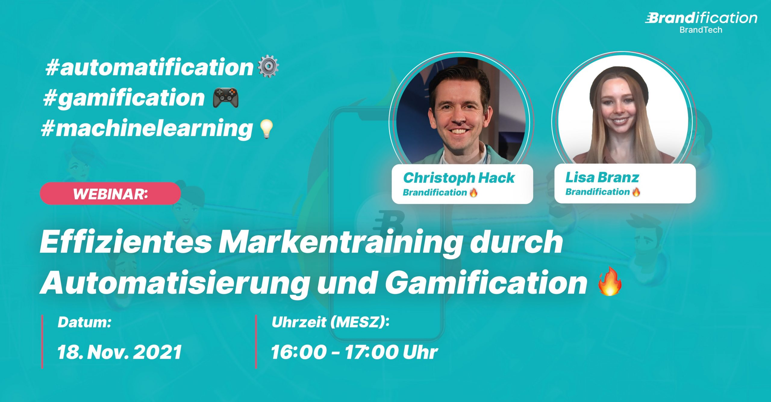 Websession Brandification Gamification Automatisierung 18.11.