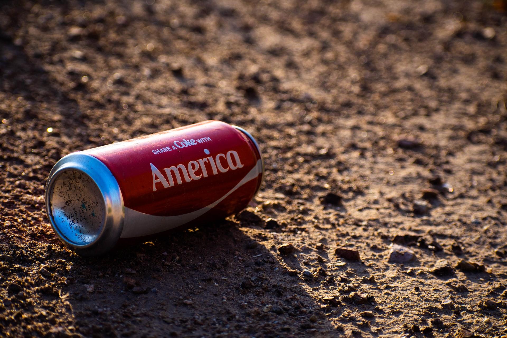 """The """"Share a coke"""" campaign from Coca Cola"""