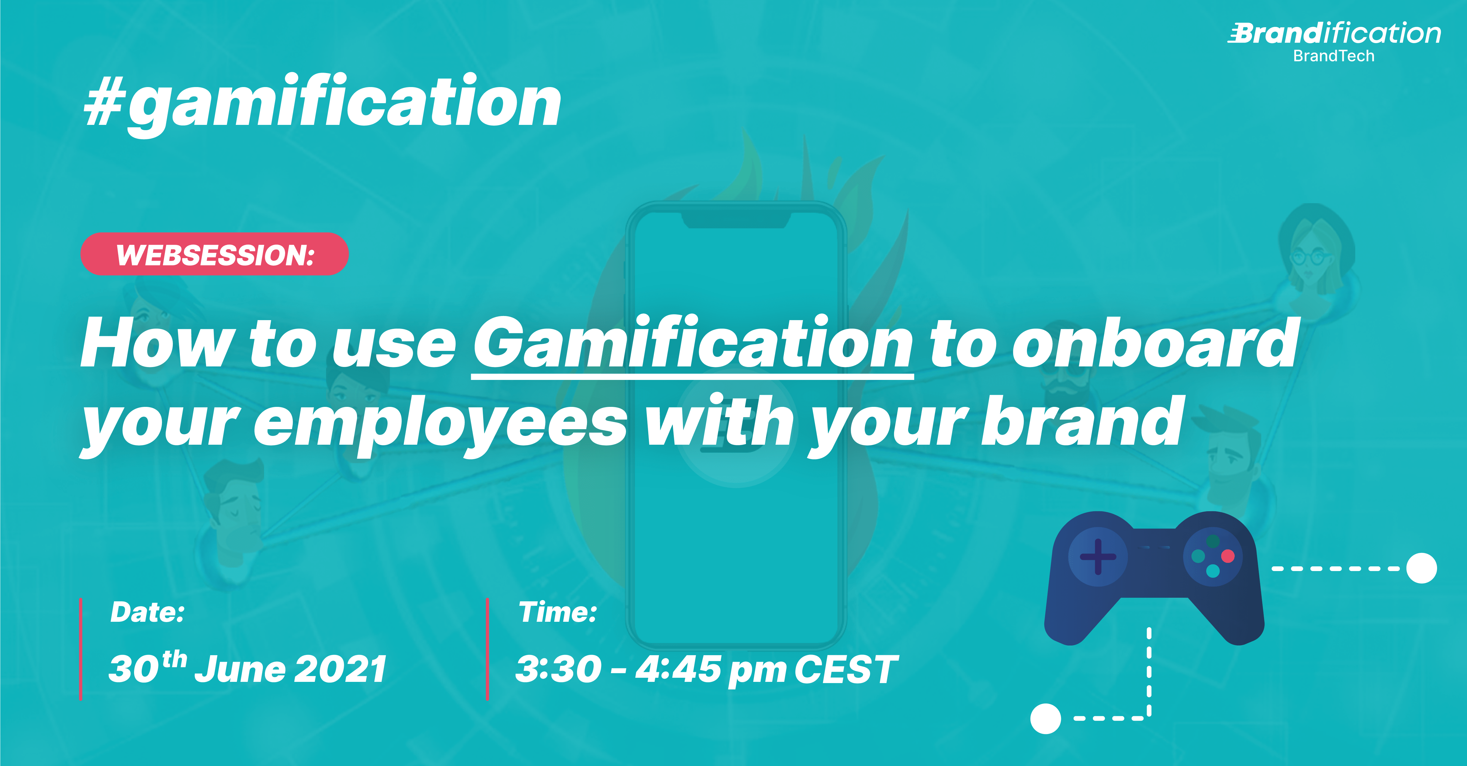 Gamification websession banner